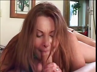 After a blowjob, she put a massive ass on the cock and gave it in the pose of a rider